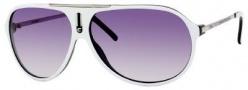 Carrera Hot/S Sunglasses Sunglasses - 0YCF White Black-Palladium / LF Gray Gradient Lens