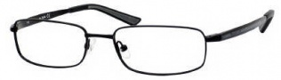 Carrera 7536 Eyeglasses Eyeglasses - 091T Black Semi Shiny