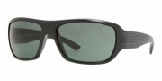Ray-Ban RB4150 Sunglasses Sunglasses - (601S) Matte Balck / Crystal Green