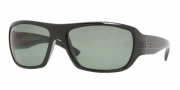 Ray-Ban RB4150 Sunglasses Sunglasses - (601/58) Black / Crystal Green Polarized