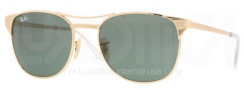 Ray-Ban RB3429 Sunglasses Signet Sunglasses - 001 Arista Crystal / Green