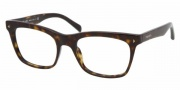 Prada PR 01NV Eyeglasses Eyeglasses - 2AU1O1 Havana