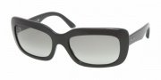 Prada PR23MS Sunglasses Sunglasses - 1AB3M1 Gloss Black / Gray Gradient
