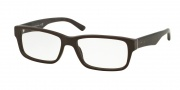 Prada PR 16MV Eyeglasses Eyeglasses - TV61O1 Matte Brushed Brown