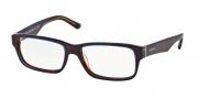 Prada PR 16MV Eyeglasses Eyeglasses - ZXH1O1 Tortoise Denim / Demo Lens