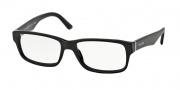 Prada PR 16MV Eyeglasses Eyeglasses - 1AB1O1 Gloss Black / Demo Lens