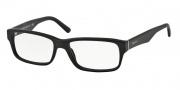 Prada PR 16MV Eyeglasses Eyeglasses - 1BO1O1 Matte Black / Demo Lens