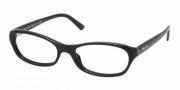 Prada PR 17MV Eyeglasses Eyeglasses - 1AB1O1 Gloss Black