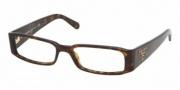 Prada PR 22MV Eyeglasses Eyeglasses - 2AU1O1 Dark Tortoise
