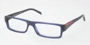 Prada PS 01AV Eyeglasses Eyeglasses - 1AV1O1 Matte Opal Gray