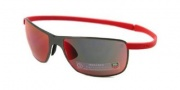 Tag Heuer Curves 5023 Sunglasses Sunglasses - 501 Black Ceramic Frame / Red Temple / Infrared Lenses