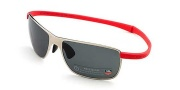 Tag Heuer Curves 5023 Sunglasses Sunglasses - 312 Pure Frame / Red Temple / Green Precision Lenses