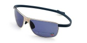 Tag Heuer Curves 5023 Sunglasses Sunglasses - 412 Pure Frame / Blue-Grey Temple / Watersports Lenses