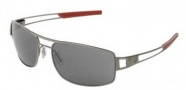 Tag Heuer Speedway 0201 Sunglasses Sunglasses - 102 Dark Frame / Red End Tips / Grey Outdoor Lenses