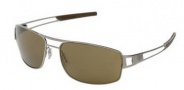 Tag Heuer Speedway 0201 Sunglasses Sunglasses - 201 Ruthenium Frame / Havana End Tip / Brown Precision Lenses