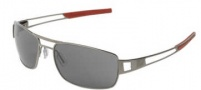 Tag Heuer Speedway 0203 Sunglasses Sunglasses - 102 Dark Frame / Red End Tips / Outdoor Lenses