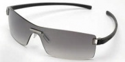 Tag Heuer Club 7506 Sunglasses Sunglasses - 108 Dark Grey Temples / Brushed Ruthenium Frame Front / Gradient Grey Lenses