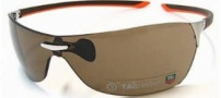 Tag Heuer Squadra 5504 Sunglasses Sunglasses - 205 Havana-Orange Temples / Pure Lug / Brown Lenses