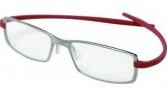 Tag Heuer Reflex Neo 3704 Eyeglasses Eyeglasses - 004 Pure Front / Red Temples