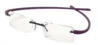 Tag Heuer Reflex 3101 Eyeglasses Eyeglasses - 016 Titanium Front / Dark Red Temples