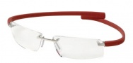 Tag Heuer Wide 5201 Eyeglasses Eyeglasses - 003 Pure Front / Red Temples