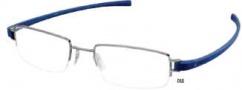 Tag Heuer Track 7205 Eyeglasses Eyeglasses - 016 Anthracite Ceramic Front / Smart Blue