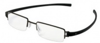 Tag Heuer Track 7206 Eyeglasses Eyeglasses - 011 Black Ceramic Front / Black Temples