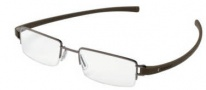Tag Heuer Track 7206 Eyeglasses Eyeglasses - 005 Chocolate Ceramic Front / Havana Temples