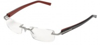 Tag Heuer Trends 8101 Eyeglasses Eyeglasses - 002 Ruthenium Front / Squadra Temples
