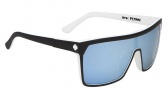 Spy Optic Flynn Sunglasses Sunglasses - Whitewall Grey W/ Light Blue Spectra