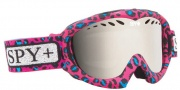 Spy Optic Targa Mini Goggles Goggles - Wild and Free Pink Blue / Bronze with Silver Mirror