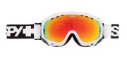 Spy Optic Soldier Goggles - Spectra Lenses Goggles - White / Bronze with Red Spectra