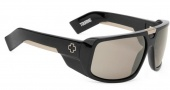 Spy Optic Touring Sunglasses Sunglasses - Black / Bronze Polarized with Black Mirror