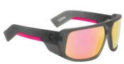 Spy Optic Touring Sunglasses Sunglasses - Grey with Pink