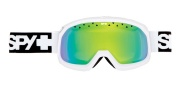 Spy Optic Trevor Goggles - Spectra lenses Goggles - White Bronze W/ Green Spectra