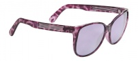 Spy Optic Clarice Sunglasses Sunglasses - Royal Purple Marble Frame / Purple Silver Mirror Lens