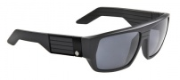 Spy Optic Blok Sunglasses Sunglasses - Matte Black / Grey