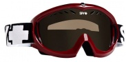 Spy Optic Targa 11 Goggles - Bronze Lenses Goggles - Wine / Bronze lens