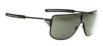 Spy Optic Yoko Sunglasses Sunglasses - Matte Black Frame / Grey Green Lens