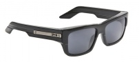 Spy Optic Tice Sunglasses Sunglasses - Black Smoke Crsytal Frame / Black Fade Lens