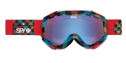 Spy Optic Zed Goggles - Spectra Lenses Goggles - Brighe Idea / Persimmon with Blue Spectra