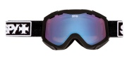 Spy Optic Zed Goggles - Spectra Lenses Goggles - Occult Persimmon with Blue Spectra
