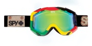 Spy Optic Zed Goggles - Spectra Lenses Goggles - Unite / Yellow with Green Spectra