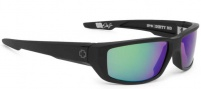 Spy Optic Dirty Mo Sunglasses Sunglasses - Matte Black / Bronze Polarized with Green Spectra