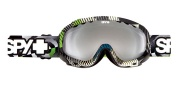 Spy Optic Soldier Goggles - Mirror Lenses Goggles - Space Out / Bronze with Silver Mirror + Persimmon
