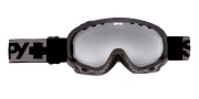Spy Optic Soldier Goggles - Mirror Lenses Goggles - Black / Bronze with Silver Mirror