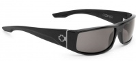 Spy Optic Cooper Sunglasses Sunglasses - Shiny Black / Happy Grey Green