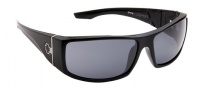 Spy Optic Cooper XL Sunglasses Sunglasses - Shiny Black / Grey