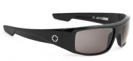 Spy Optic Logan Sunglasses Sunglasses - Shiny Black / Grey Polarized