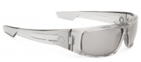 Spy Optic Logan Sunglasses Sunglasses - Clear Smoke / Grey with Silver Mirror